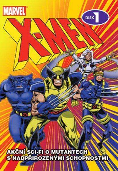X-MEN 01 (DVD) (papírový obal)