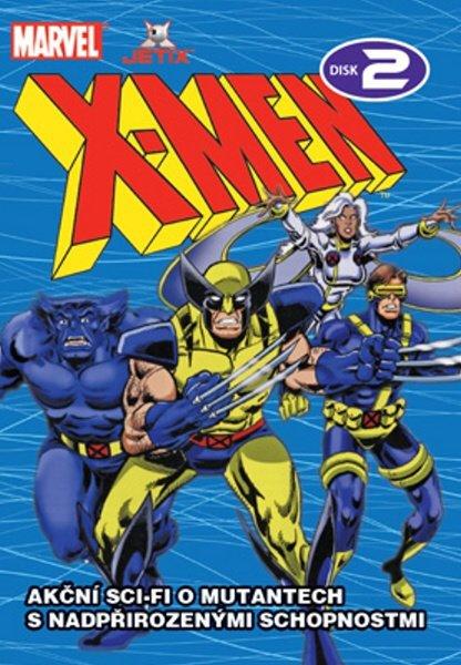 X-MEN 02 (DVD) (papírový obal)