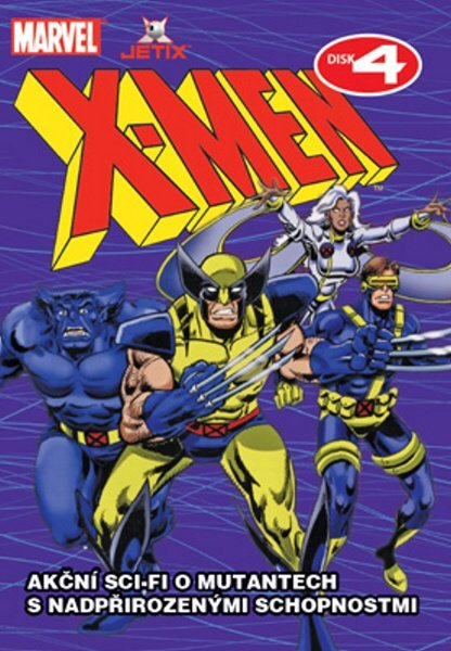 X-MEN 04 (DVD) (papírový obal)