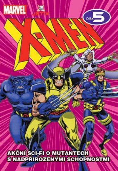 X-MEN 05 (DVD) (papírový obal)