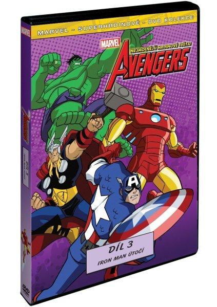 The Avengers: Nejmocnější hrdinové světa 3 (DVD)