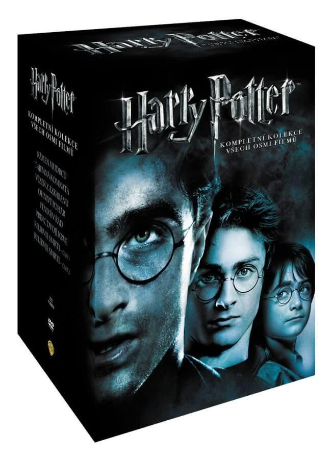 Harry Potter 1-7 kolekce - 16xDVD (český dabing)