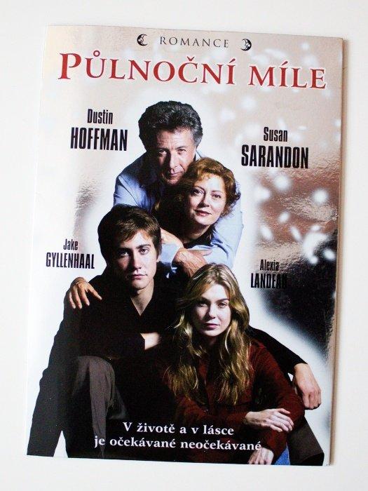Půlnoční míle (DVD) (papírový obal)