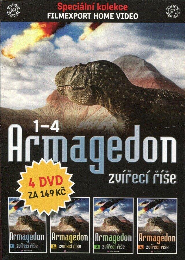 Armagedon zvířecí říše KOMPLET - DVD 1-4 (DVD) (papírový obal)