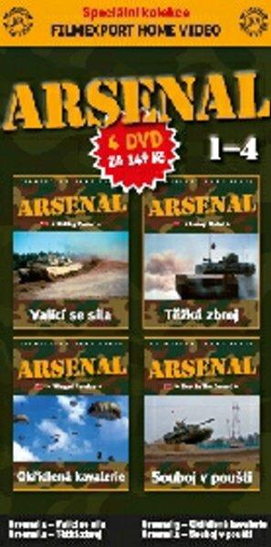 Arsenal KOMPLET 1+2+3+4 (DVD) (papírový obal)