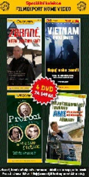 Discovery KOMPLET 1+2+3+4 (DVD) (papírový obal)