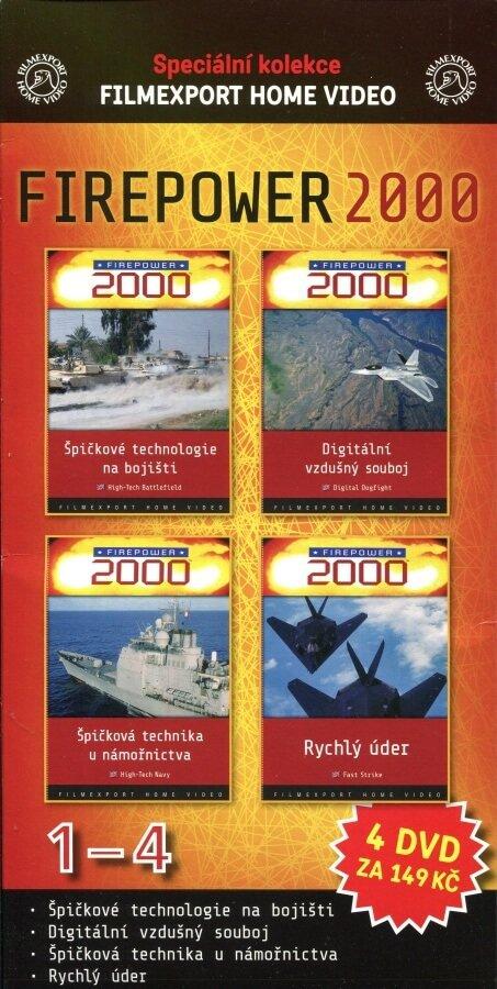 FIREPOWER 2000 KOMPLET 1+2+3+4 (DVD) (papírový obal)