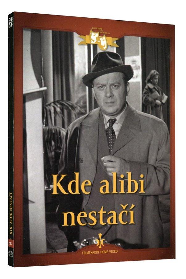 Kde alibi nestačí (DVD) - digipack