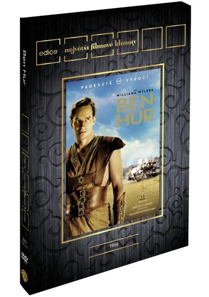 Ben Hur (2 DVD) - výroční edice - edice filmové klenoty