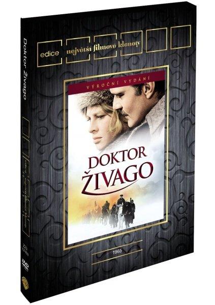 Doktor Živago (2 DVD) - edice filmové klenoty