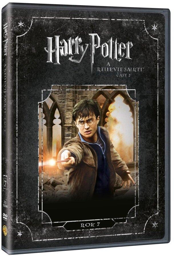Harry Potter a Relikvie smrti - 2. část - 1 DVD