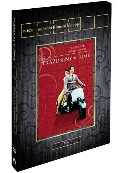 Prázdniny v Římě (pouze s českými titulky) (DVD) - edice filmové klenoty