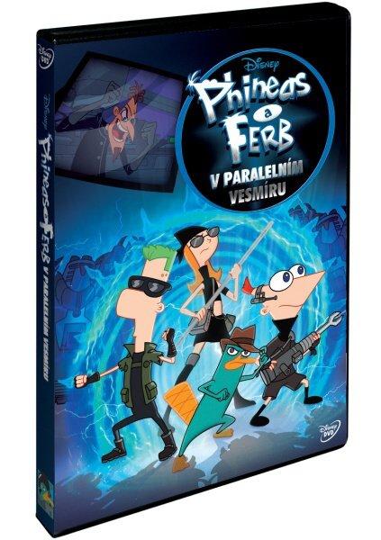 Phineas a Ferb v paralelním vesmíru (DVD)