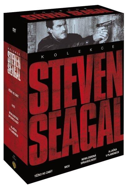 Steven Seagal kolekce (4 DVD)