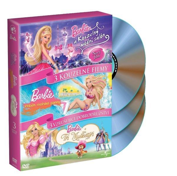 Barbie kolekce - 3xDVD