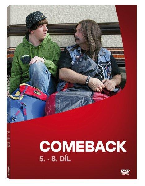 Comeback - 1. série - 5.-8. díl (DVD)