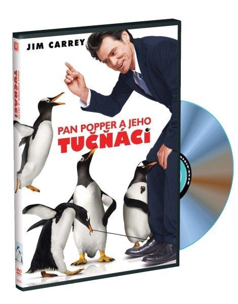 Pan Popper a jeho tučňáci (DVD)