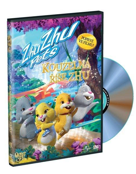 Zhu Zhu Pets: Kouzelná říše Zhu (DVD)