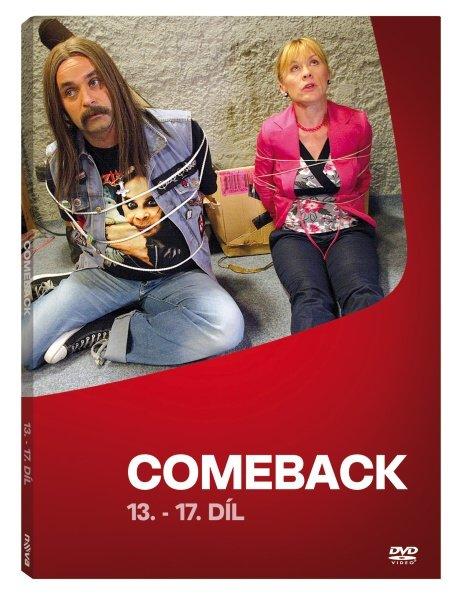 Comeback - 1. série - 13.-17. díl (DVD)