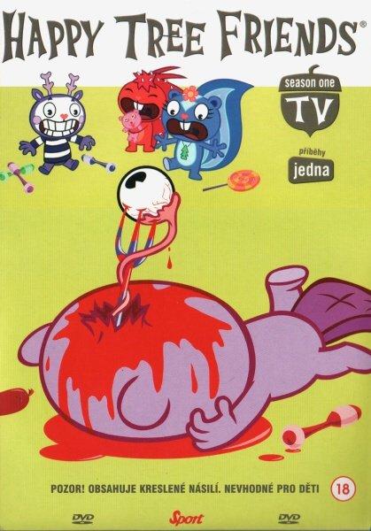 Happy Tree Friends 1. sezóna - DVD 1 (DVD) (papírový obal)