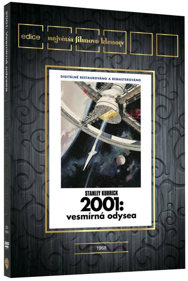 2001: Vesmírná odysea (DVD) - edice filmové klenoty - české titulky
