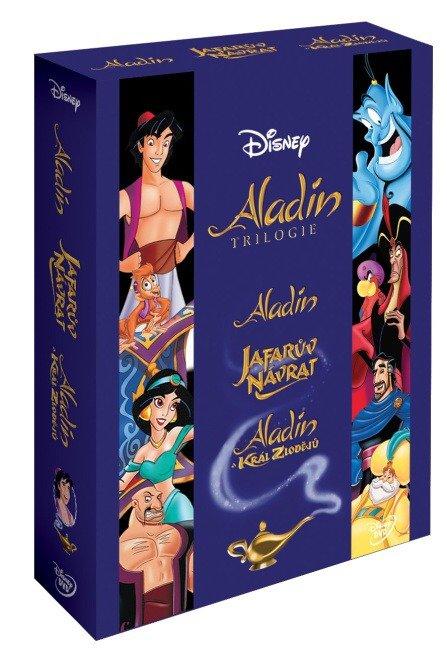 Aladin kolekce 1+2+3 - 3xDVD
