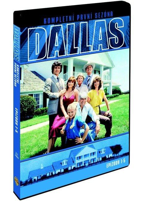 Dallas - 1. série (1978) (DVD) - epizody 1-5