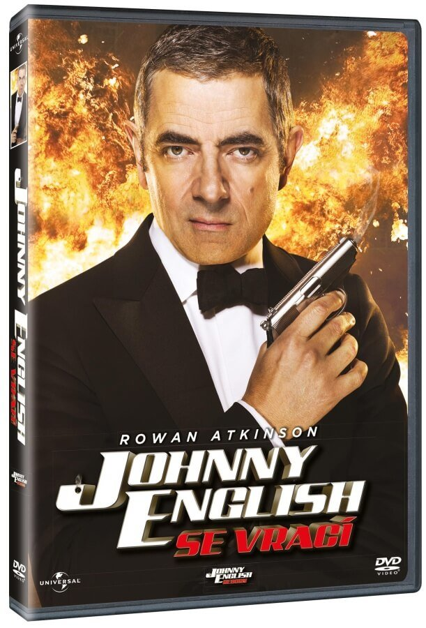 Johnny English se vrací (DVD)