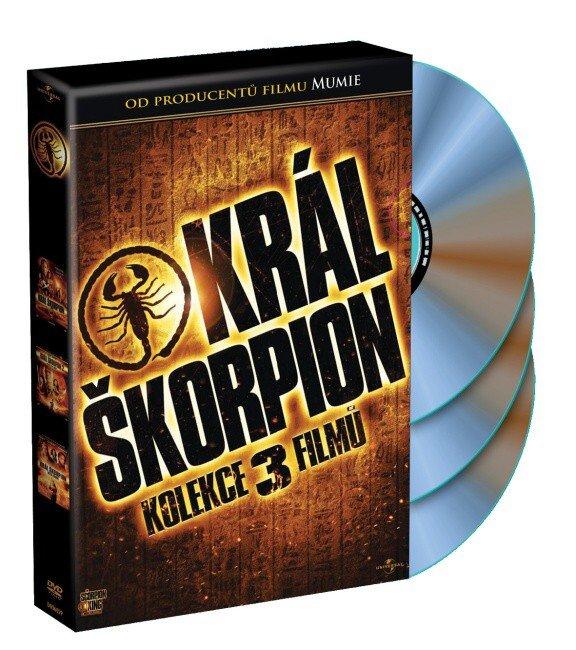 Král Škorpion - kolekce (3 DVD)