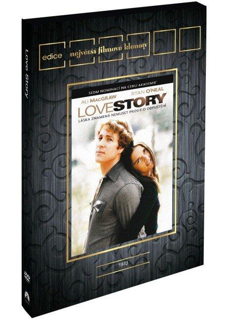 Love Story (DVD) (pouze s českými titulky) - edice filmové klenoty