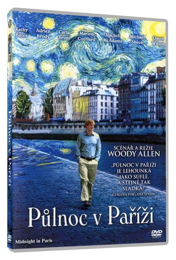 Půlnoc v Paříži (DVD)