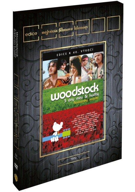Woodstock (DVD) (bez české podpory) - edice filmové klenoty
