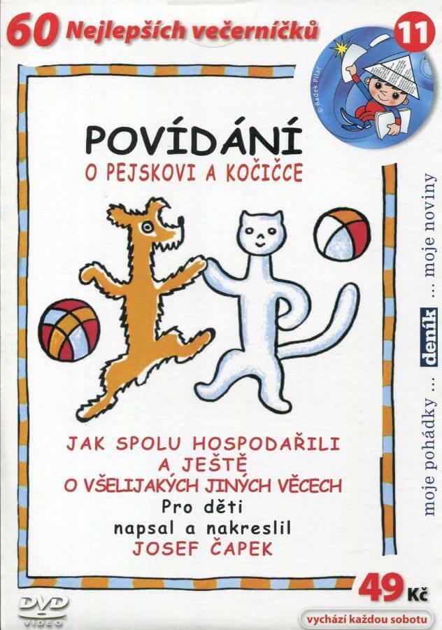 Povídání o pejskovi a kočičce (DVD) (papírový obal)
