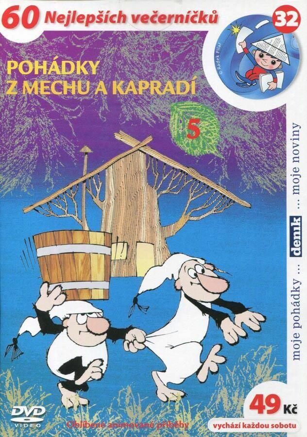 Pohádky z mechu a kapradí 5 (DVD) (papírový obal)