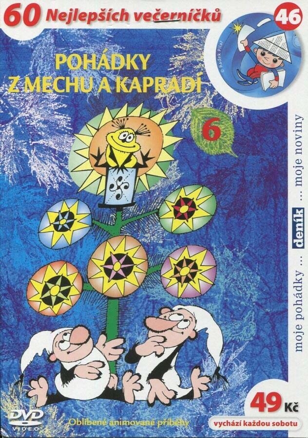 Pohádky z mechu a kapradí 6 (DVD) (papírový obal)