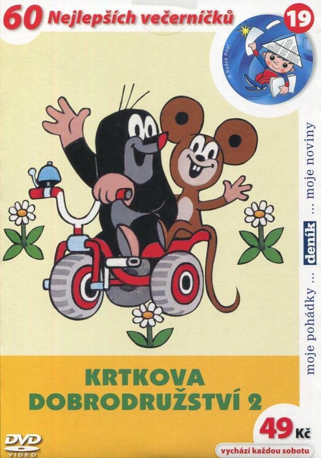 Krtkova dobrodružství 2 (DVD) (papírový obal)
