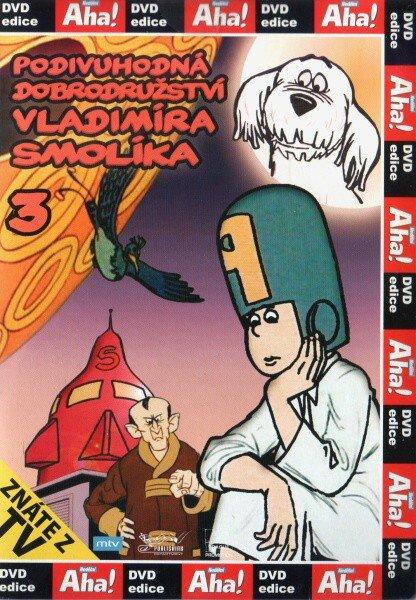 Podivuhodná dobrodružství Vladimíra Smolíka 3 (DVD) (papírový obal)