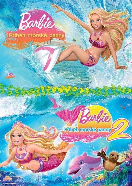 Barbie - Příběh mořské panny 1+2 - kolekce - 2xDVD