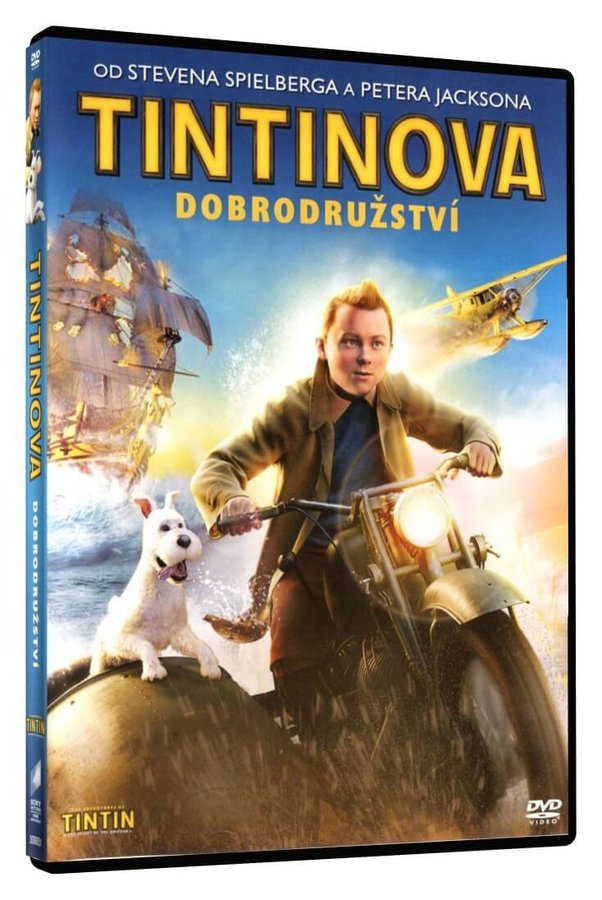Tintinova dobrodružství (DVD)