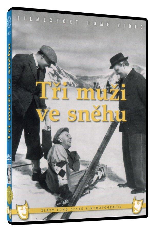 Tři muži ve sněhu (DVD)