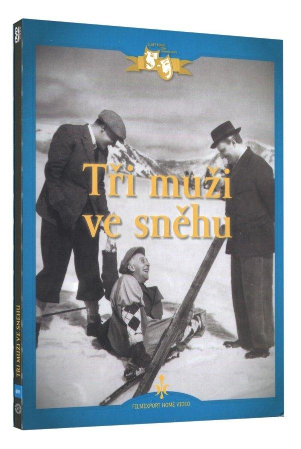 Tři muži ve sněhu (DVD) - digipack