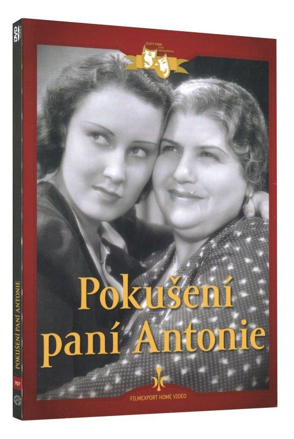 Pokušení paní Antonie (DVD) - digipack