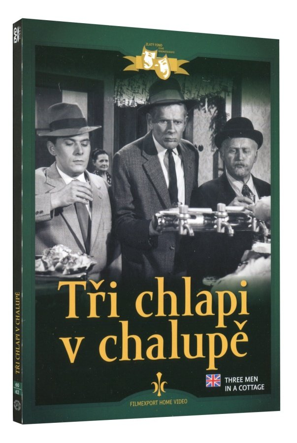 Tři chlapi v chalupě (DVD) - digipack