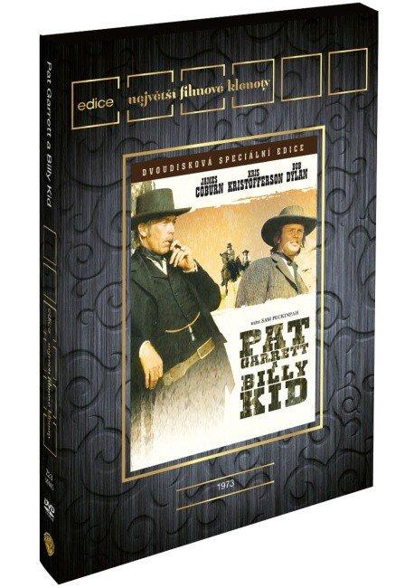 Pat Garret a Billy Kid (2 DVD) - edice filmové klenoty