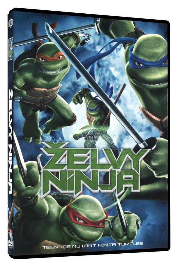 Želvy Ninja - FILM (2007) (DVD)