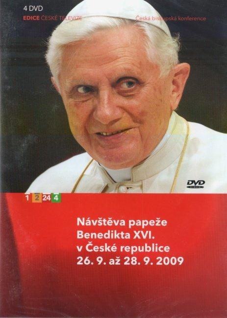 Návštěva papeže Benedikta XVI. v České Republice - 4 DVD