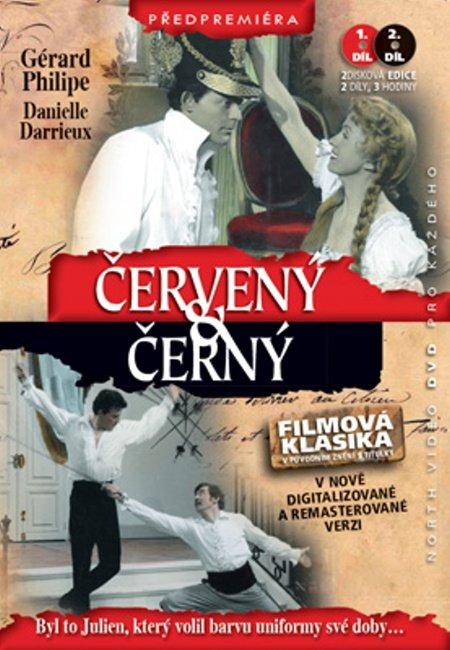 Červený a černý - 1.+ 2. díl (Gérard Philipe) (DVD) (české titulky)