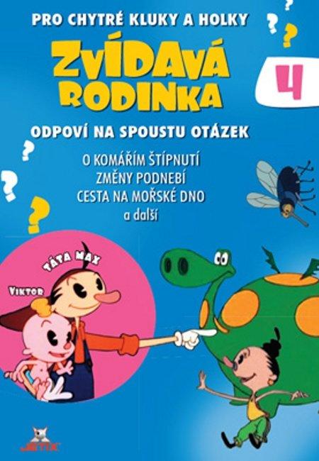Zvídavá rodinka 04 (DVD) (papírový obal)