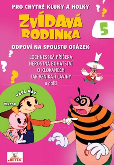 Zvídavá rodinka 05 (DVD) (papírový obal)