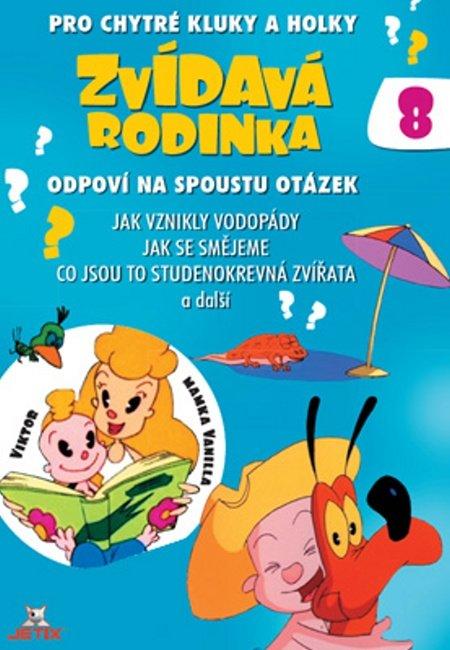 Zvídavá rodinka 08 (DVD) (papírový obal)